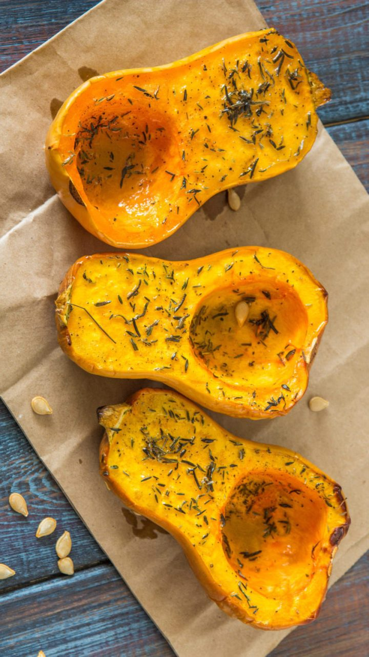 Honey Thai Roasted Butternut Squash (Keto, Paleo)